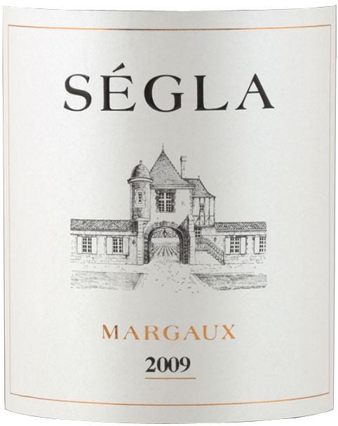 Vin Rouge Bordeaux A.O.C Margaux Chateau Segla 2009 75 cl.