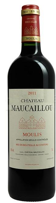 Vin Rouge Bordeaux A.O.C Moulis Chateau Maucaillou 2011 75 cl.