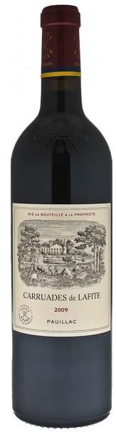 Vin Rouge Bordeaux A.O.C Pauillac Les Carruades de Lafite 2009 75 cl.