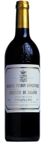 Vin Rouge Bordeaux A.O.C Pauillac Chateau Pichon Comtesse Lalande 2012 75 cl.