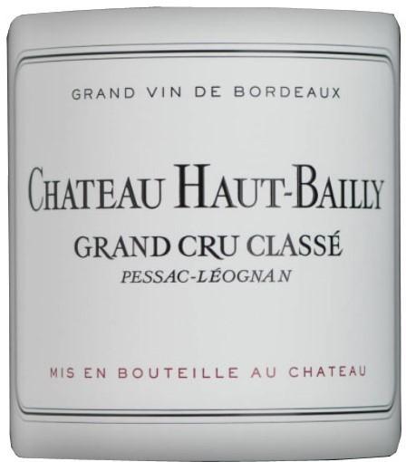 Vin Rouge Bordeaux A.O.C Pessac-Leognan Chateau Haut Bailly 2012 75 cl.
