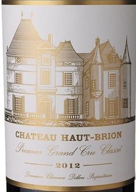 Vin Rouge Bordeaux A.O.C Pessac-Leognan Chateau Haut Brion 2012 75 cl.