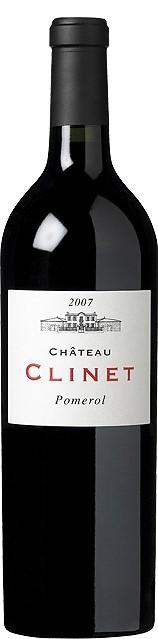 Vin Rouge Bordeaux A.O.C Pomerol Chateau Clinet 2007 75 cl.
