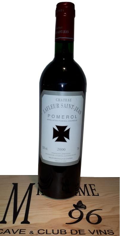 Vin Rouge Bordeaux A.O.C Pomerol Chateau Lafleur Saint-Jean 2000 75 cl.
