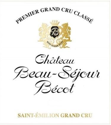 Vin Rouge Bordeaux A.O.C ST-Emilion Chateau Beau-S__jour B__cot 2009 75 cl.