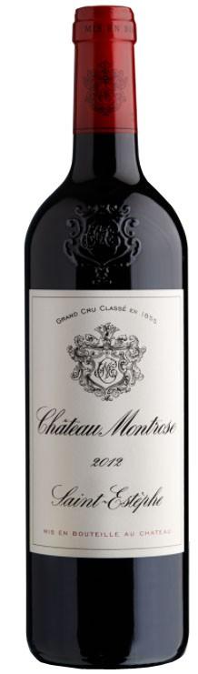 Vin Rouge Bordeaux A.O.C ST-Estephe Chateau Montrose 2012 75 cl.