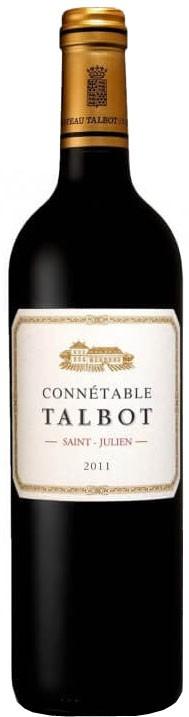 Vin Rouge Bordeaux A.O.C ST-Julien Connetable de Talbot 2011 75 cl.