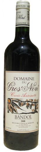 Vin Rouge Provence A.O.C Bandol Domaine Gros Nore Antoinette 2008 75 cl.