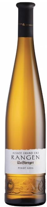 Vin Blanc Alsace A,O,C Pinot Gris Grand Cru Domaine Wolfberger Rangen 2008 75 cl,