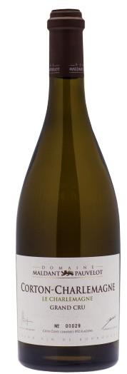 Vin Blanc Bourgogne A,O,C Corton Grand Cru Domaine Maldant Le Charlemagne 2011 75 cl,