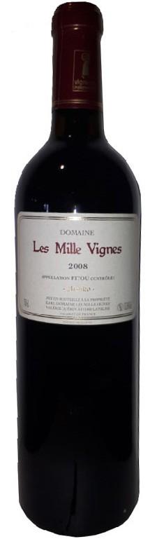 Vin Rouge Languedoc A.O.C Fitou Domaine les Vieilles Vignes Atsuko 2008 75 cl.