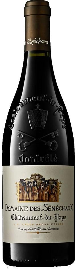 Vin Rouge Vallee Rhone A.O.C Chateauneuf du Pape Domaine des Senechaux 2012 75 cl.