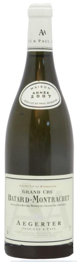 Domaine Aegerter A.O.C Batard-Montrachet Grand Cru 2007 75 cl,