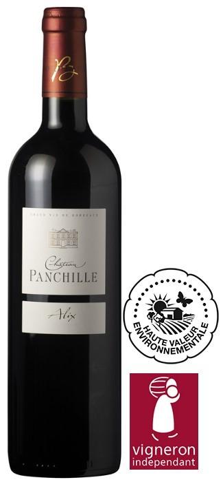 Vin Rouge A.O.C Bordeaux Superieur Chateau Panchille Alix 2011 50 cl.