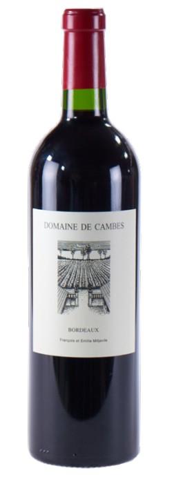 Vin Rouge A.O.C Bordeaux Domaine de Cambes 2005 75 cl.