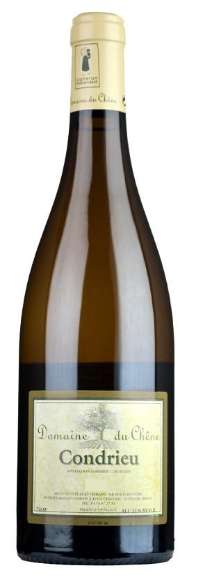 Vin Blanc Vallée Rhône A,O,P Condrieu Domaine du Chêne 2013 75 cl,
