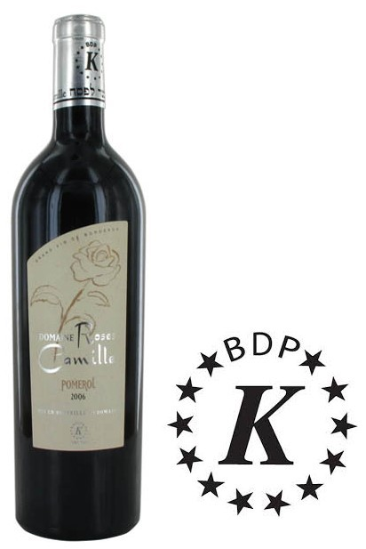 Vin Rouge Bordeaux A.O.C Pomerol Chateau Rose Camille 2006 75 cl.