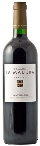 Vin Rouge Languedoc A.O.C St-Chinian Domaine la madura Classic Rouge 2007 150 cl.