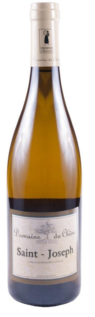 Vin Blanc Vallee Rhone A,O,P Saint-Joseph Domaine du Chne 2017 75 cl,