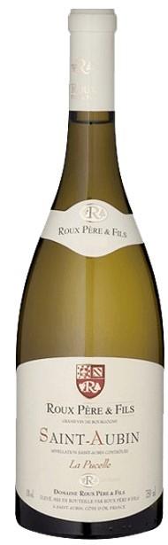 Vin Blanc Bourgogne Saint-Aubin Domaine Roux La Pucelle 2017 75 cl,
