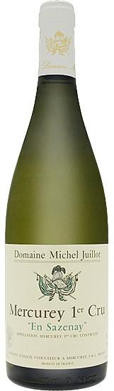 Vin Blanc Bourgogne A.O.C Mercurey Domaine JUILLOT 1er Cru En Sazenay 2013 75 cl