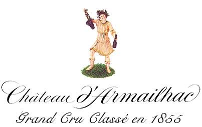 Vin Rouge Bordeaux A.O.C Pauillac Chateau d'Armailhac 2012 75 cl.