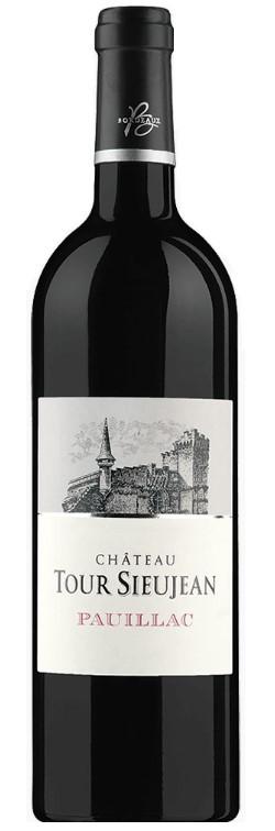 Vin Rouge Bordeaux A.O.C Pauillac Chateau Tour Sieujan 2010 75 cl.