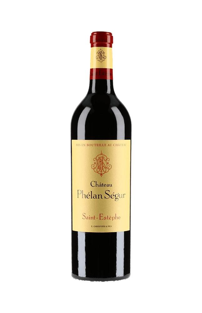 Vin Rouge Bordeaux A.O.C ST-Estephe Chateau Phelan Segur 2015 75 cl.