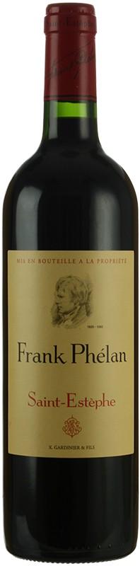 Vin Rouge Bordeaux A.O.C ST-Estephe Frank Phélan 2011 75 cl.