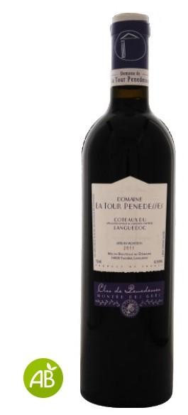 Vin Rouge Languedoc A.O.P Coteaux du Languedoc La Tour Penedesses Montée des Grès 2011 75 cl.