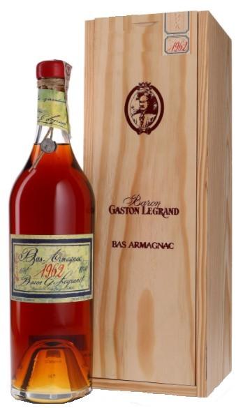 Bas-Armagnac Baron Gaston Legrand 1962 70 cl.
