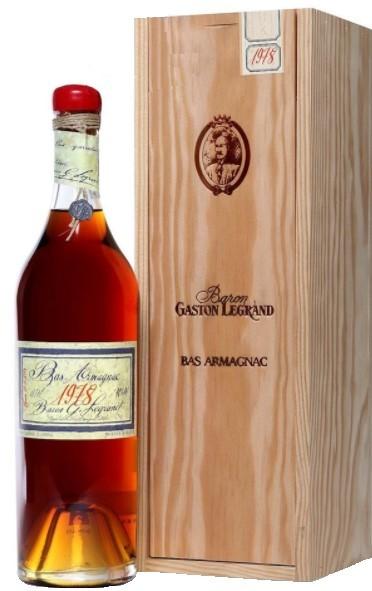 Bas-Armagnac Baron Gaston Legrand 1978 70 cl.
