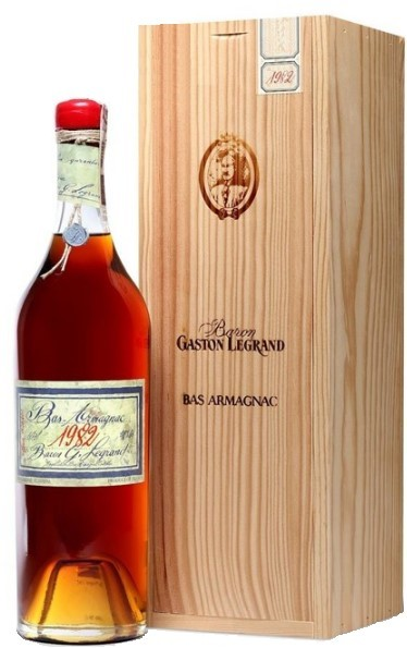 Bas-Armagnac Baron Gaston Legrand 1982 70 cl.