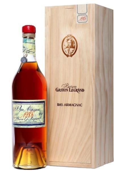 Bas-Armagnac Baron Gaston Legrand 1986 70 cl.