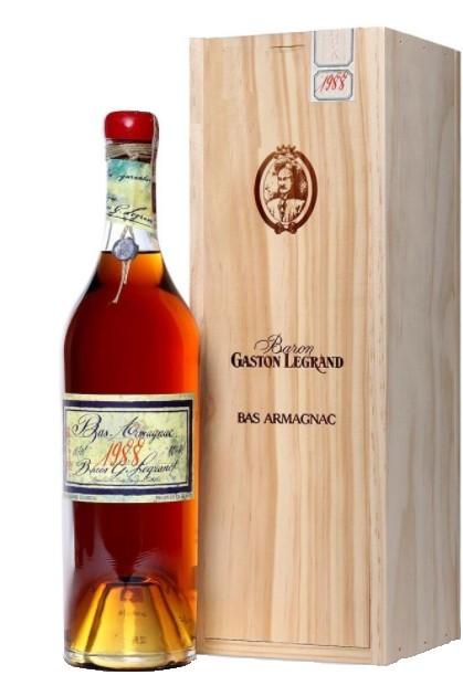 Bas-Armagnac Baron Gaston Legrand 1988 70 cl.