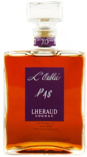 """Cognac Petite Champagne Cognac Lheraud """"Oublié"""" 70 cl."""