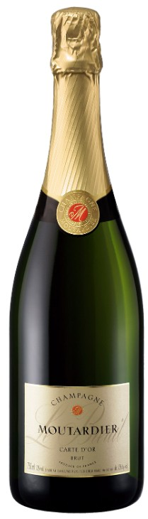 """Champagne Brut Moutardier """"Carte d'Or"""" 37.5 cl"""
