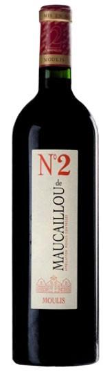 Vin Rouge Bordeaux A.O.C Moulis N°2 de Maucaillou 2010