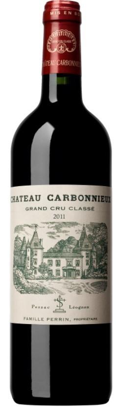 Vin Rouge Bordeaux A.O.C Pessac-Leognan Chateau Carbonnieux 2012 75 cl.