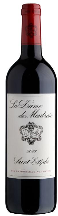 Vin Rouge Bordeaux A.O.C ST-Estèphe La Dame de Montrose 2009 75 cl