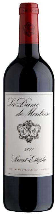 Vin Rouge Bordeaux A.O.C ST-Estèphe La Dame de Montrose 2011 75 cl