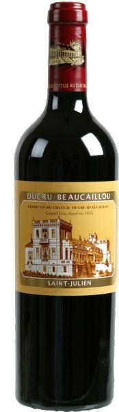 Vin Rouge Bordeaux A.O.C ST-Julien Chateau Ducru-Beaucaillou 2015 75 cl.