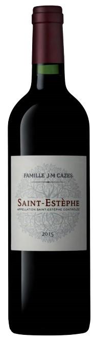 Saint-Estèphe J.M Cazes 2015 75 cl
