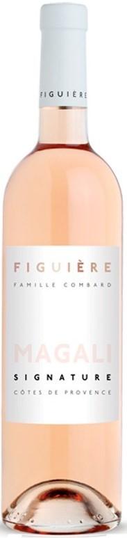 """Vin Rosé Provence A.O.P Provence Domaine Figuière """"Magali"""" 2019 75 cl"""