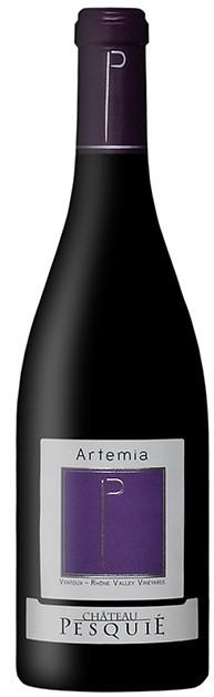 Vin Rouge Vallee Rhone A.O.C Ventoux Chateau Pesquie Artemia 2014 75 cl.
