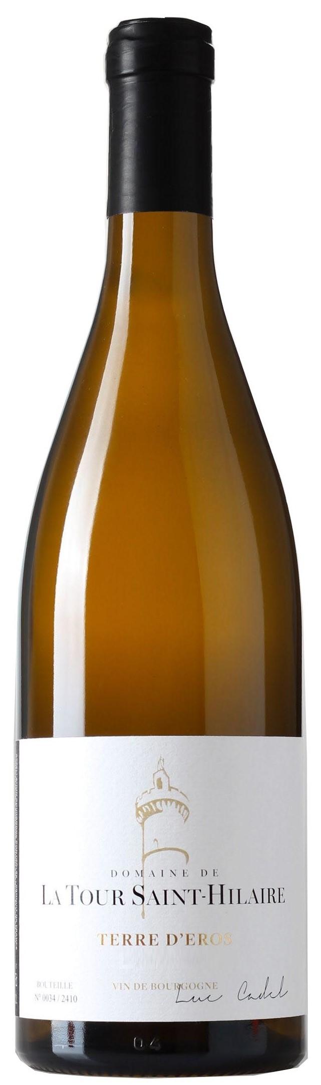 """Vin Blanc Bordeaux A.O.P Bourgogne Côte Chalonnaise iDomaine de la Tour St-Hilaire """"Terre d""""Eros"""" 2015 75 cl"""
