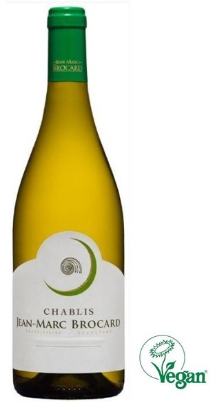 Vin Blanc Bourgogne A.O.C Chablis Domaine J-M Brocard 2018 75 cl