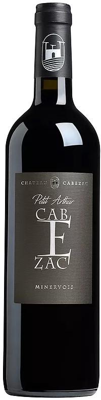 Vin Rouge Languedoc A.O.C Minervois Chateau Cabezac Petit Arthur 2016 75 cl