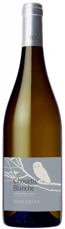 Vin Blanc Languedoc A,O,P Coteaux du Languedoc Mas Foulaquier La Chouette 2013 75 cl,