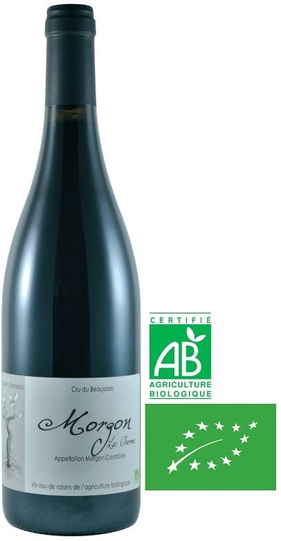 Vin Rouge Beaujolais A.O.P Morgon Domaine Chasselay Bio 2013 75 cl